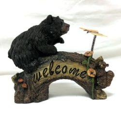 Bear Butterfly Welcome