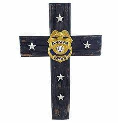 Police Dept Cross