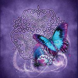 Celtic Butterfly Blanket