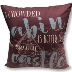 Cabin Rules Pillow DAP10044