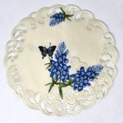 butterfly blue bonnet
