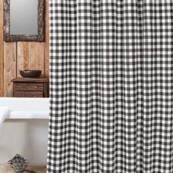 DSC690 BW Shower Curtain